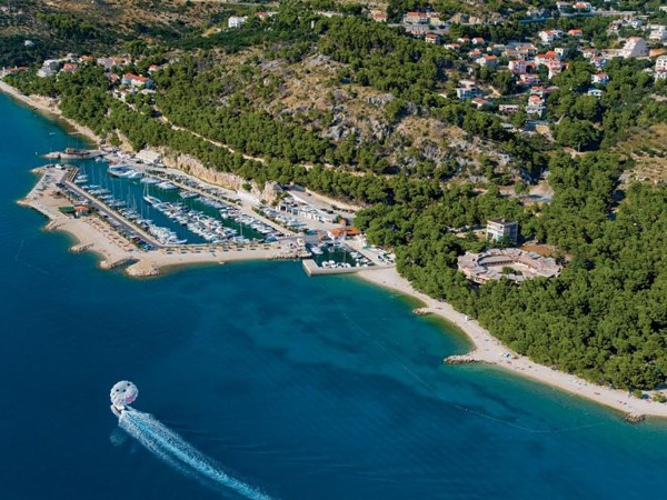 Moorings in Split-Dalmatia County