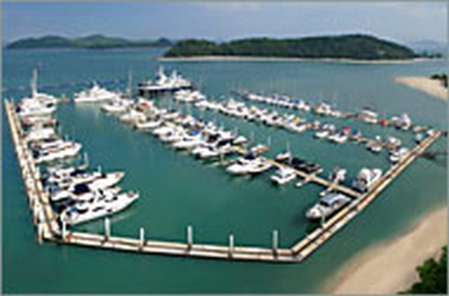 Moorings in Phuket Province
