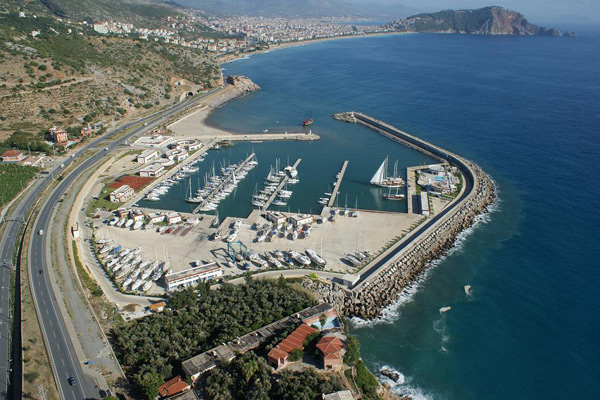 Moorings in Antalya Province