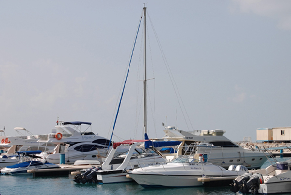 Moorings in Ras al-Khaimah