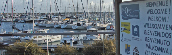 Moorings in Brittany