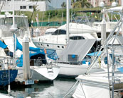 Moorings in State of Quintana Roo