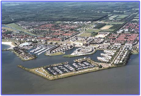 Moorings in Flevoland
