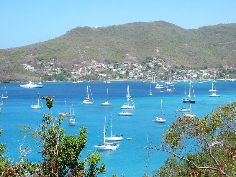 Moorings in Grenadines