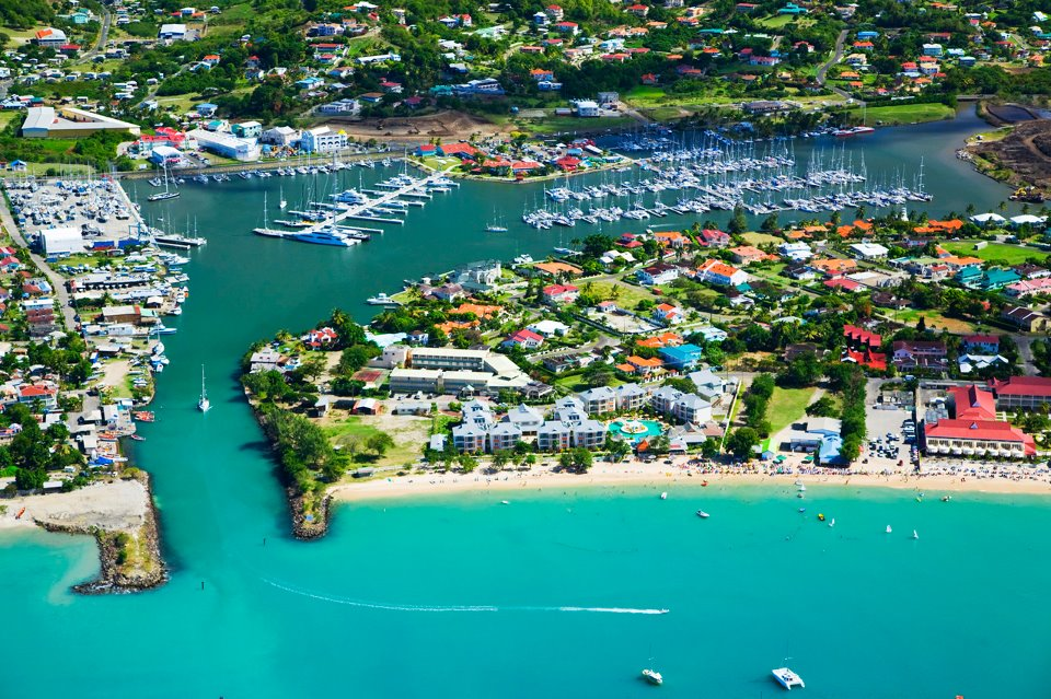 Moorings in Gros Islet Quarter