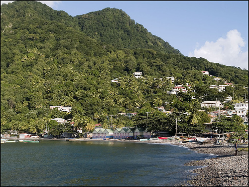 Moorings in Soufrière Quarter