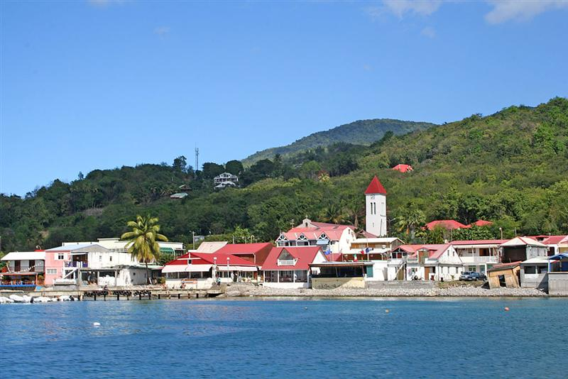 Moorings in Guadeloupe