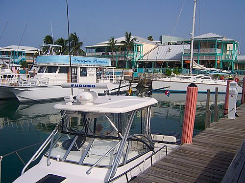 Moorings in Freeport District