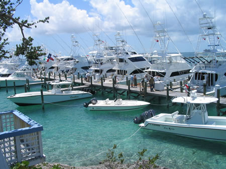 Moorings in Green Turtle Cay District
