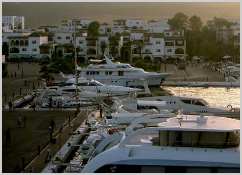 Moorings in Tangier-Tetouan