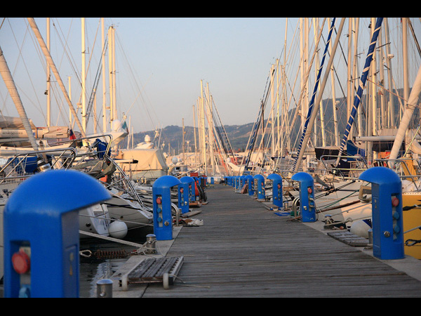 Moorings in Izola