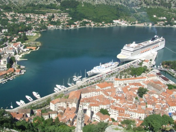 Moorings in Kotor