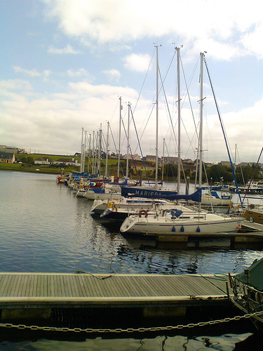 Moorings in County Clare