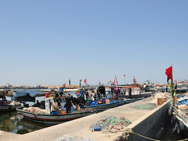 Moorings in Medenine Governorate