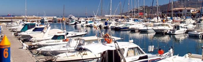 Moorings in Ceuta