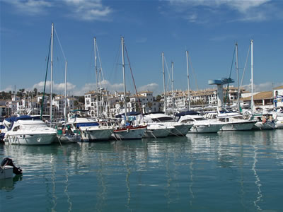 Moorings in Málaga