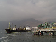 Moorings in II Antofagasta Region