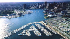 Inner Harbor East Marina 1