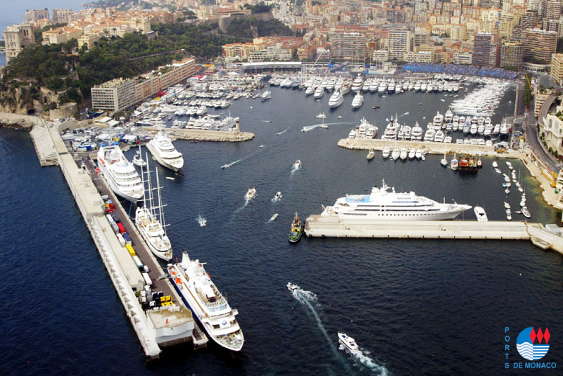 Moorings in Principality of Monaco