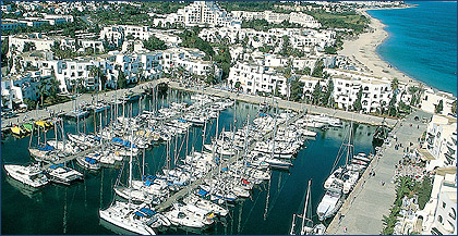 Moorings in Sousse Governorate