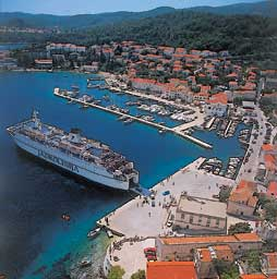 Moorings in Dubrovnik-Neretva County